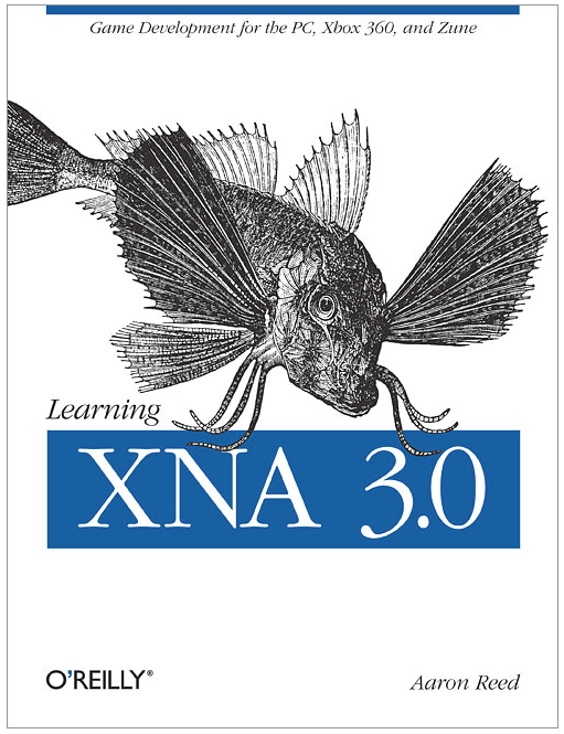 Image of cover of text Learning XNA 3.0 by Aaron Reed, O'Reilly publisher 2009