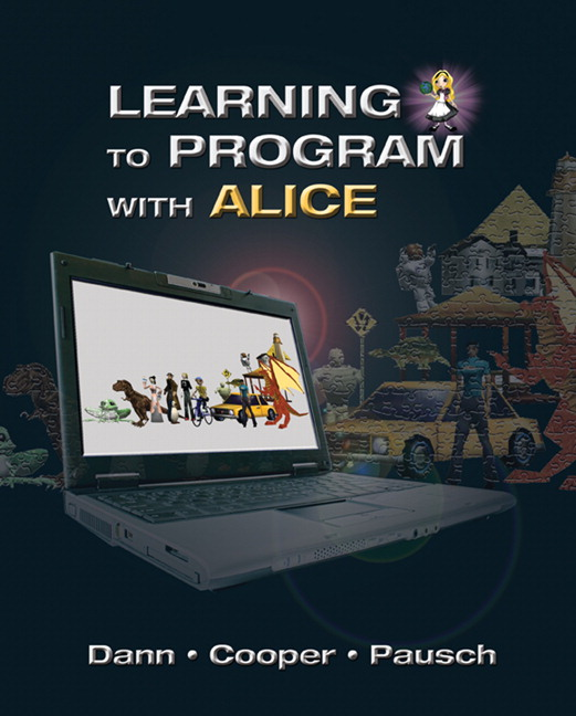 Cover of textbook Learning to Program with Alice